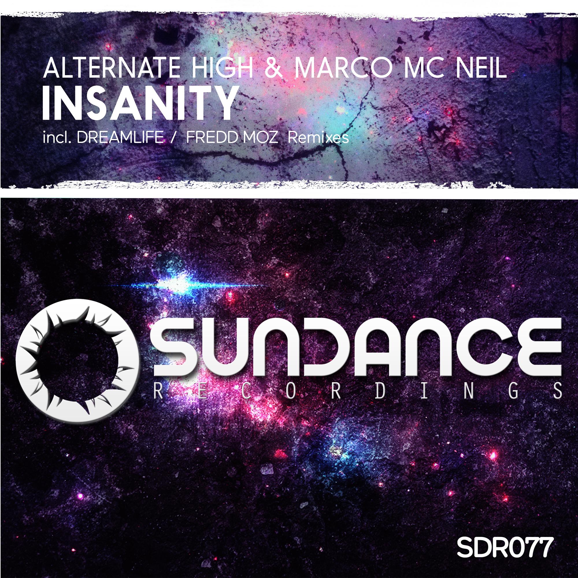 Alternate High & Marco Mc Neil - Insanity (DreamLife Remix)